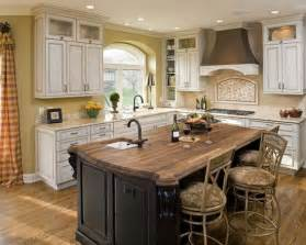 black kitchen island with butcher block top 17 best images about island top cabinets pictures and islands