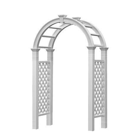 england arbors nantucket legacy arbor hoover fence