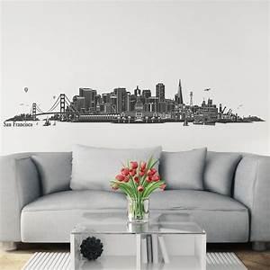 Wandtattoo San Francisco : wandtattoo skyline san francisco ~ Whattoseeinmadrid.com Haus und Dekorationen