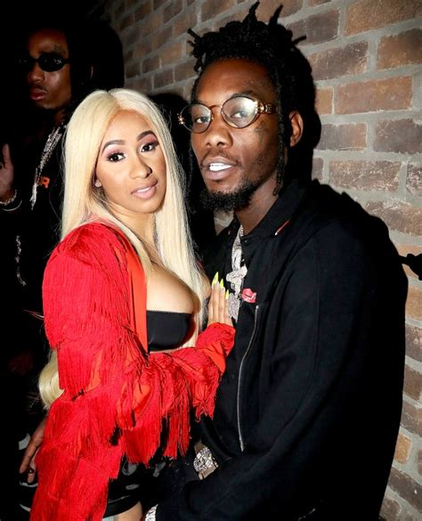 cardi b upset with offset cardi b and offset attend the officical ovo fest