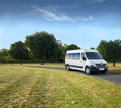 renault master bus renault master bus launched in australia from 59 990