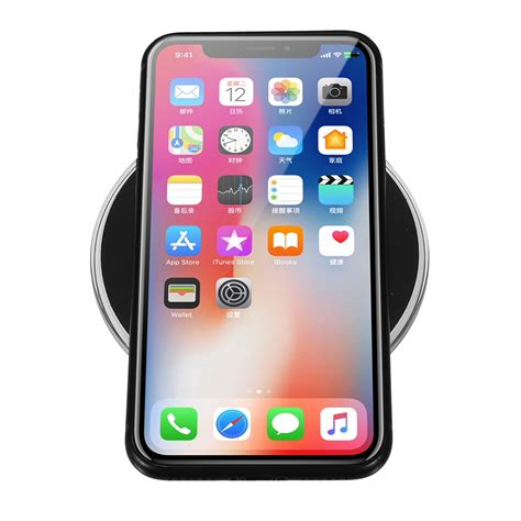 onn iphone charger cables adaptors qi wireless charger charging pad mat 2171