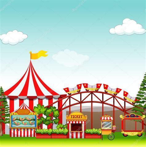 Información, fotos y videos en milenio. 상점과 놀이 공원에서 놀이 기구 — 스톡 벡터 © blueringmedia #91640006