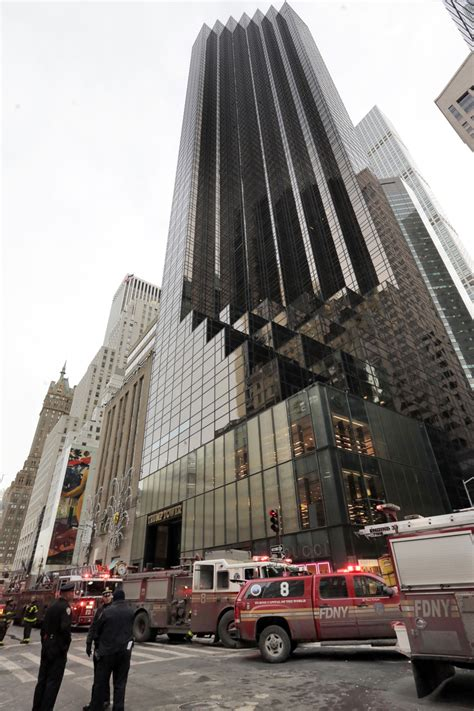 trump tower donald fire building nyc york front department heating system ny seattle around built president times roof floor air