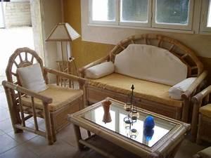 Salon De Jardin Bambou : salon de jardin en bambou ameublement maison carpentras ~ Teatrodelosmanantiales.com Idées de Décoration