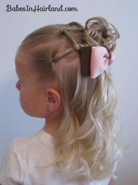 Easy Kid Hairstyles by Easy Hairstyles For