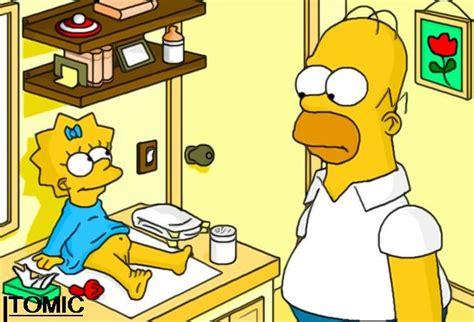 Simpsons maggie porn
