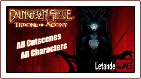 like dungeon siege 2 dungeon siege throne of agony all cutscenes original