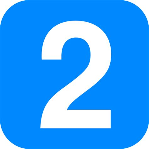Fichiernumber 2 In Light Blue Rounded Squaresvg — Wikilivres