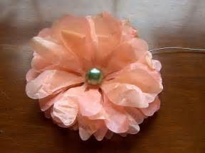 Tissue Paper Flowers Instructions