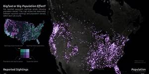 Bigfoot Sightings Map: See 92 Years Of 'Squatch In The U.S ...