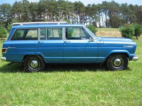 jeep kaiser wagoneer find used 1968 68 kaiser jeep wagoneer fsj 350 buick auto