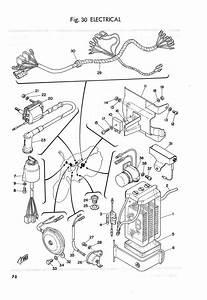 Yamaha Parts Manual Fs50 Fs1 1974 1975 1976 1977 1978