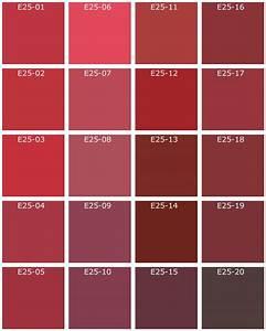 deco en rouge With echeancier de couleur peinture