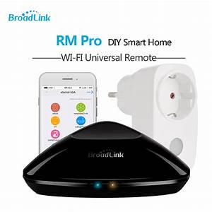 Smart Home Wlan : broadlink rm3 pro rm mini 3 black bean smart home automation universal wifi switch remote wifi ~ Markanthonyermac.com Haus und Dekorationen