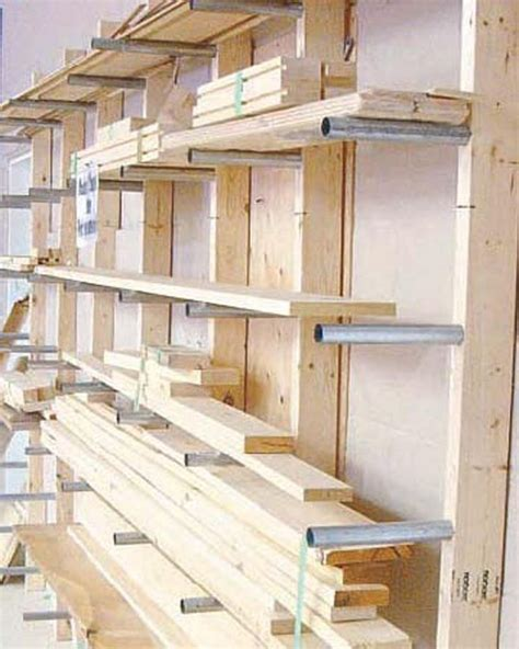 lumber storage ideas  pinterest