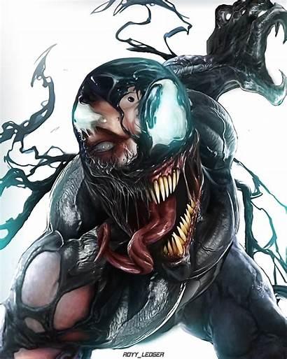 Venom Artstation Marvel Comic Character Characters Comics