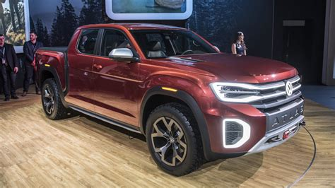 New Vw Truck by Volkswagen Reveals Atlas Tanoak Truck Concept