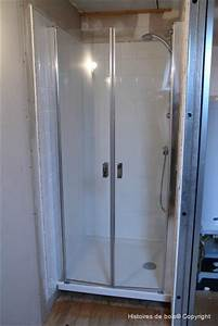 creation d39une chambre parentale episode 12 installation With fabriquer porte douche