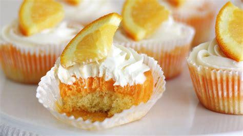 creamy orange sherbet cupcakes recipe bettycrockercom