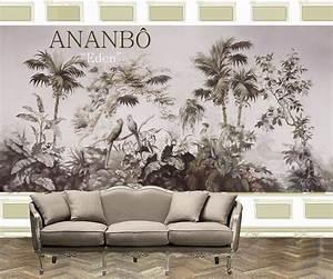 Papier Peint Ananbo : ananb pr sente eden papier peint panoramique ananb le blog ~ Melissatoandfro.com Idées de Décoration