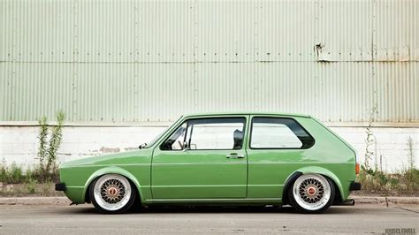Vw Mk1 Golf Love The Colour And Stance Volkswagen