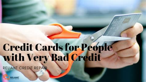 Apply for best credit card for 350+ credit score. Credit Cards for People with Very Bad Credit - Reliant Credit Repair In New Jersey