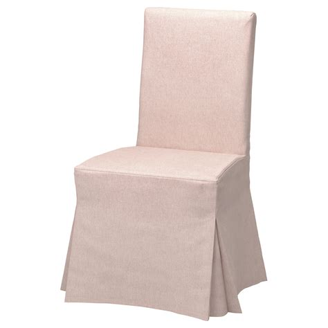 dessus de chaise ikea henriksdal chair cover gunnared pale pink ikea