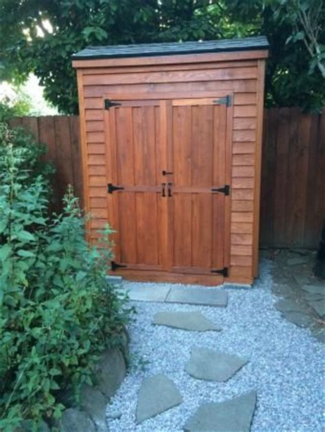 cedar yard tool shed do it yourself home projects from