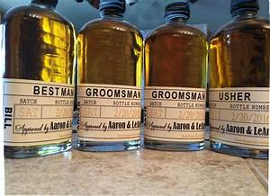 liquor labels will you be my groomsman personalized With custom liquor labels for groomsmen