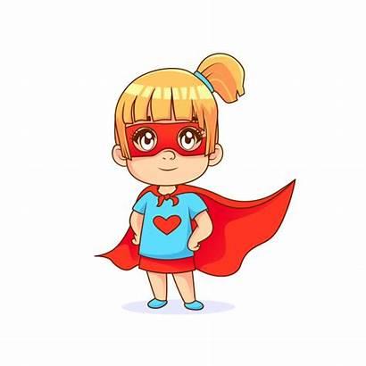 Vector Superhero Cape Pose Background Premium Super