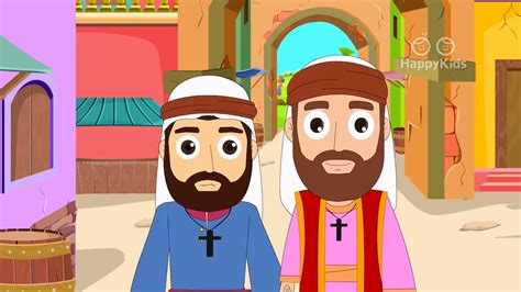 Paul And Silas I Animated Childrens Bible Stories