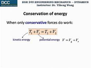 Dynamics Lecture 18: Conservation of energy - YouTube