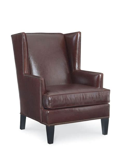 marco leather accent chair cottage home 174