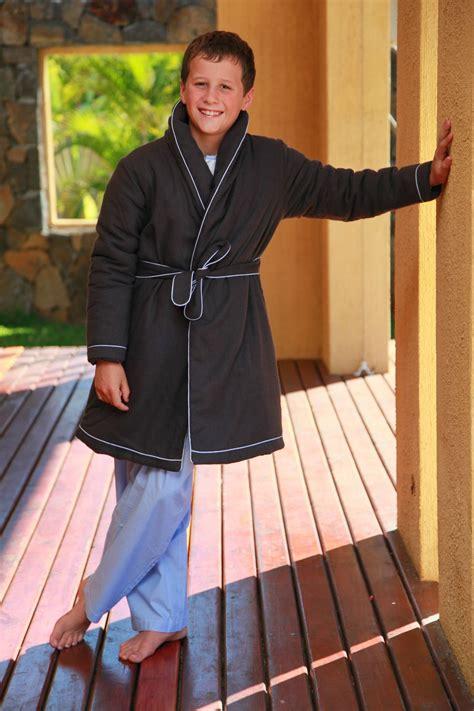 robe de chambre garcon robe de chambre garcon anthracite etoile l 39 orangerie