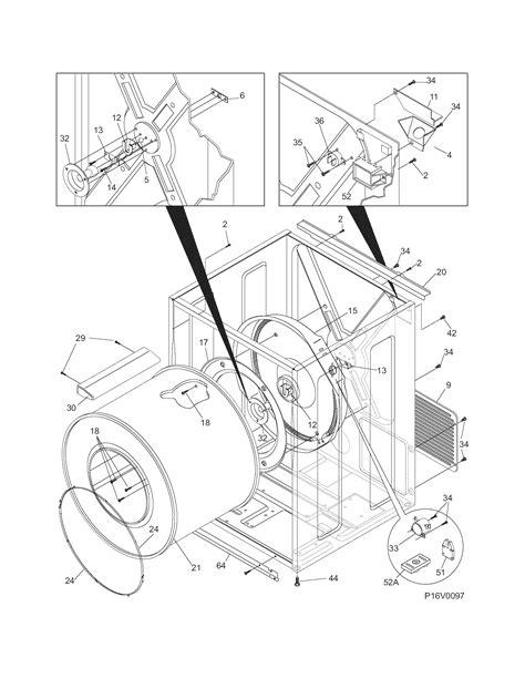 frigidaire dryer parts leq2152ee1 sears partsdirect