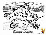 Hockey Coloring Goalie Pages Nhl Printable Sheets Yescoloring Blues Players Player Teams Ice Boys Printables Louis St Trick Hat Sports sketch template