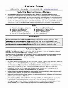 Australian Resume Resume Cv Template Examples