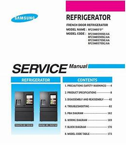 Samsung Rf23m8570 Rf23m8570sr Rf23m8570sg Service Manual