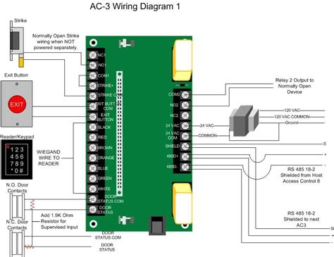 Proxpro Hid Wiring Diagram by Hid 5355 Reader Wiring Diagram
