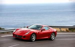 2010 Ferrari 599 GTB Fiorano HGTE Widescreen Exotic Car