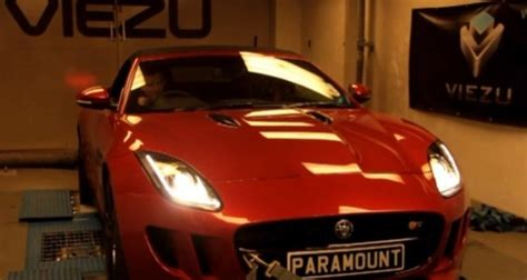 Watch A Jaguar F-type On The Dyno