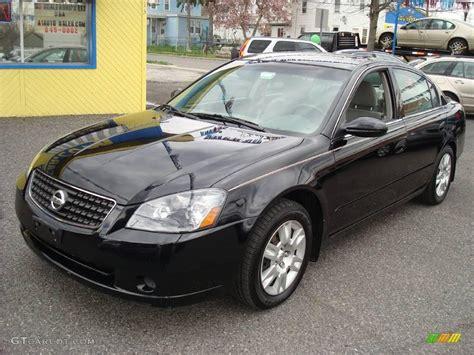 2006 Super Black Nissan Altima 2 5 S Special Edition