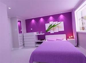 Lila Im Schlafzimmer : das schlafzimmer lila gestalten 67 einmalige wohnideen ~ Markanthonyermac.com Haus und Dekorationen