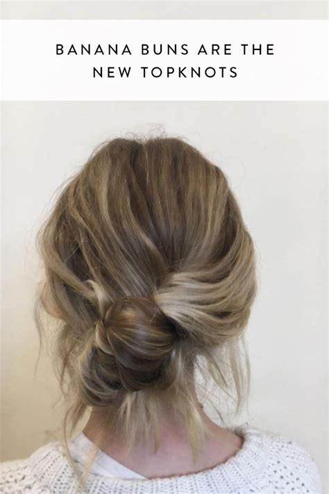 Gel Hairstyles For Medium Hair by Colored Hair Gel According To Bun Hairstyles For Medium