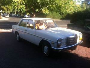 1969 Mercedes Benz 220 Diesel Rare Manual 2nd Owner No