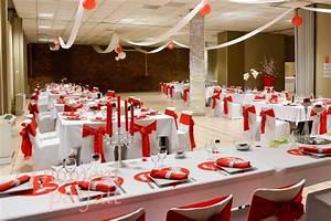 Décoration Mariage Rouge Et Blanc : decoration mariage rouge blanc et or ~ Melissatoandfro.com Idées de Décoration