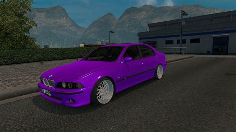 Mod Car Bmw Minecraft 1 5 2 by Bmw 540i E39 M5 1 28 X Car Mod Ets2 Mod