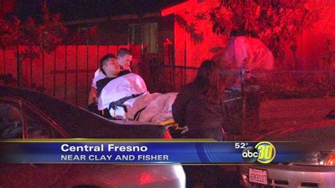 wounded  central fresno drive  shooting abccom