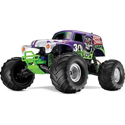 grave digger 30th anniversary monster truck toy radio control trucks toys traxxas 3602x 30th anniversary